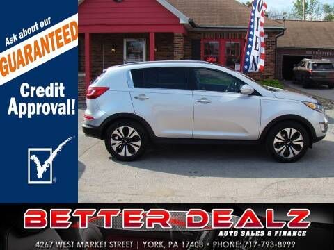 2011 Kia Sportage for sale at Better Dealz Auto Sales & Finance in York PA