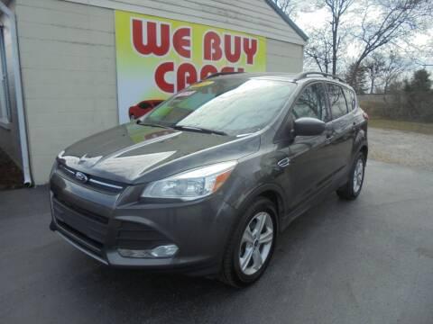 2016 Ford Escape for sale at Right Price Auto Sales in Murfreesboro TN