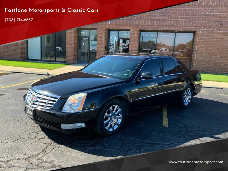 2008 Cadillac DTS for sale at Fastlane Motorsports & Classic Cars in Addison IL