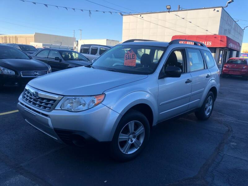 2011 Subaru Forester for sale at Fine Auto Sales in Cudahy WI