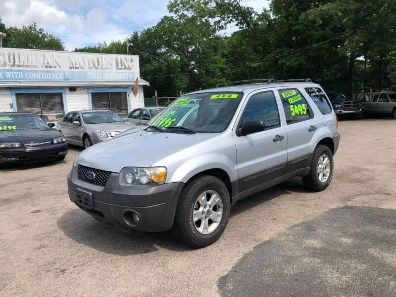 2005 Ford Escape for sale at Lucien Sullivan Motors INC in Whitman MA
