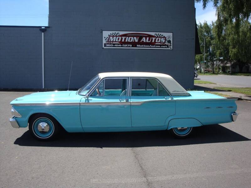 1962 Ford Fairlane for sale at Motion Autos in Longview WA