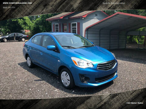 2018 Mitsubishi Mirage G4 for sale at C&C Motor Sales LLC in Hudson NC