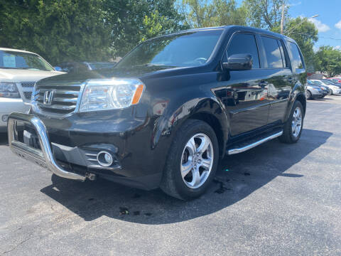 2012 Honda Pilot for sale at Action Automotive Service LLC in Hudson NY