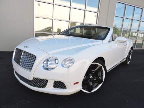 2012 Bentley Continental for sale at PK MOTORS GROUP in Las Vegas NV