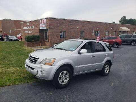 2007 Kia Sorento for sale at ARA Auto Sales in Winston-Salem NC