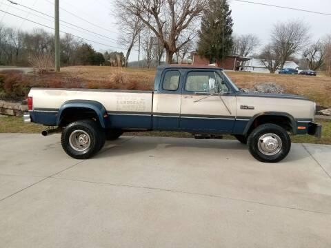 1993 Dodge RAM 350 for sale at HIGHWAY 12 MOTORSPORTS in Nashville TN