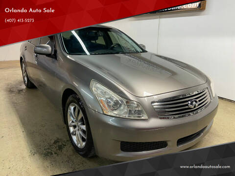 2008 Infiniti G35 for sale at Orlando Auto Sale in Orlando FL