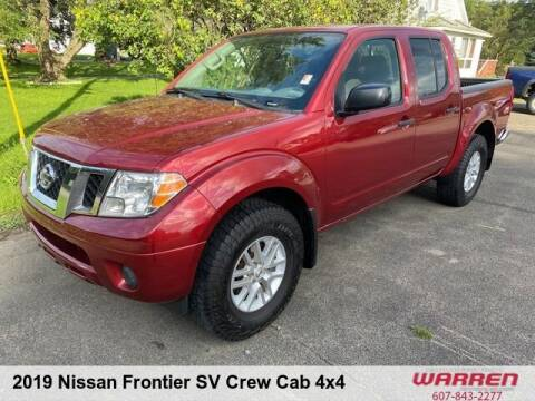 2019 Nissan Frontier for sale at Warren Auto Sales in Oxford NY