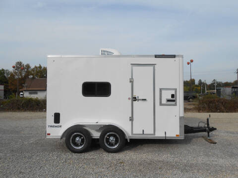 2021 Impact Tremor 7x12 for sale at Jerry Moody Auto Mart - Trailers in Jeffersontown KY