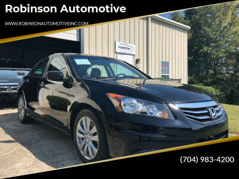 2011 Honda Accord for sale at Robinson Automotive in Albemarle NC