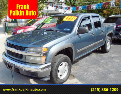 2007 Chevrolet Colorado for sale at Frank Paikin Auto in Glenside PA