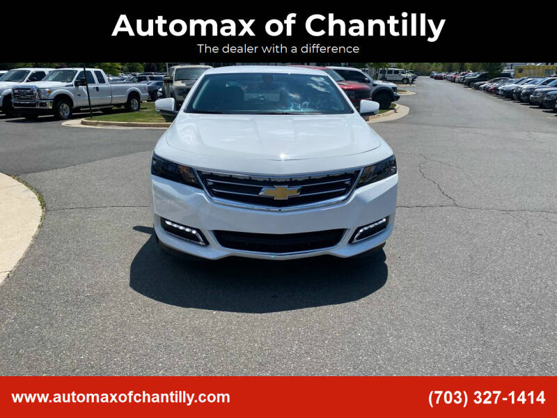 2020 Chevrolet Impala for sale at Automax of Chantilly in Chantilly VA
