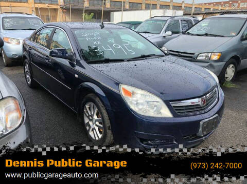 2008 Saturn Aura for sale at Dennis Public Garage in Newark NJ