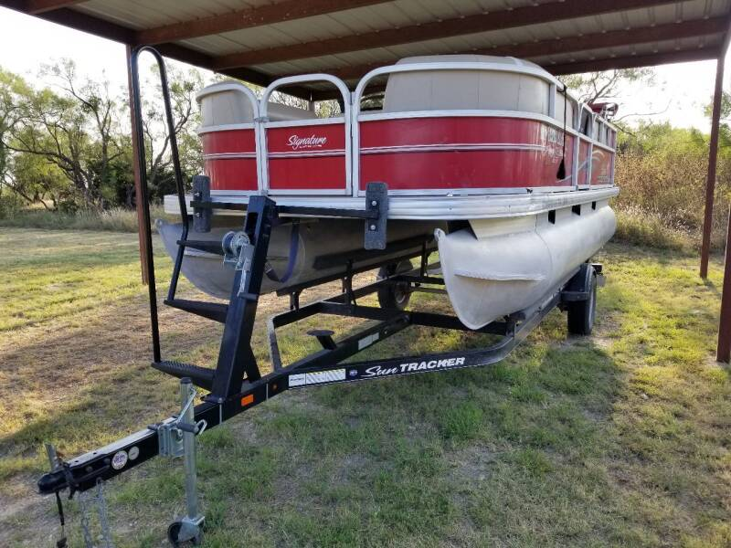 2016 Sun Catcher Pontoon 16 DLX Party Barge for sale at Key City Motors in Abilene TX