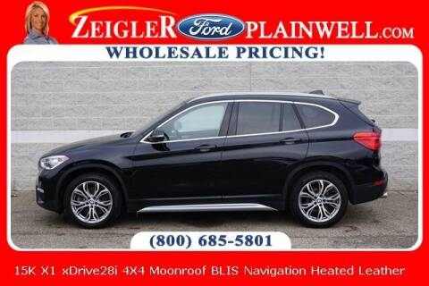 2019 BMW X1 for sale at Zeigler Ford of Plainwell- Jeff Bishop in Plainwell MI