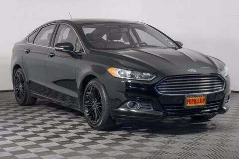 2016 Ford Fusion for sale at Chevrolet Buick GMC of Puyallup in Puyallup WA