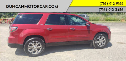 2013 GMC Acadia for sale at DuncanMotorcar.com in Buffalo NY