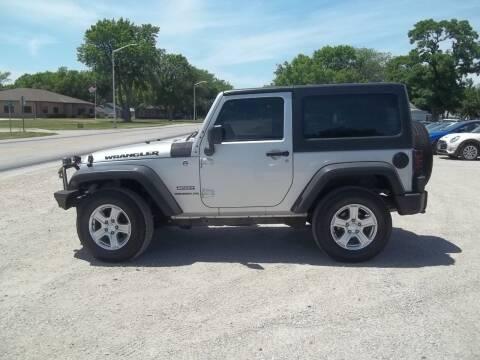 2012 Jeep Wrangler for sale at BRETT SPAULDING SALES in Onawa IA