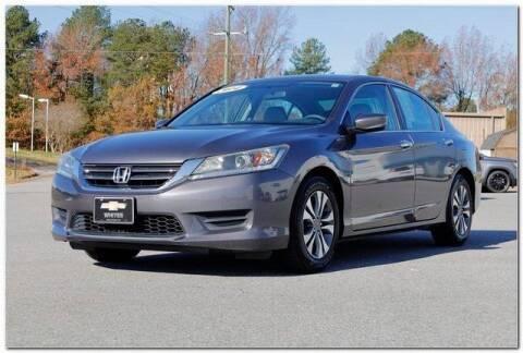 2014 Honda Accord for sale at WHITE MOTORS INC in Roanoke Rapids NC