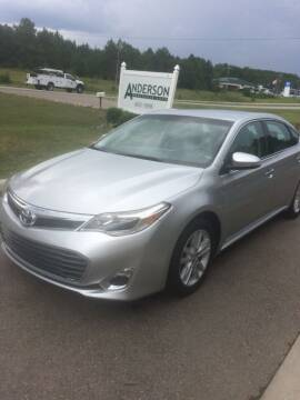 2014 Toyota Avalon for sale at Anderson Wholesale Auto in Warrenville SC
