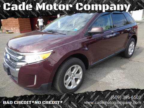 2011 Ford Edge for sale at Cade Motor Company in Lawrenceville NJ