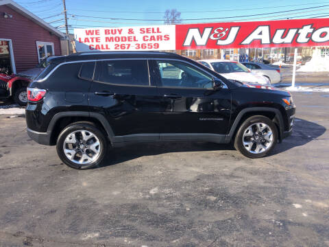 2019 Jeep Compass for sale at N & J Auto Sales in Warsaw IN