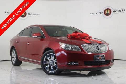 2012 Buick LaCrosse for sale at INDY'S UNLIMITED MOTORS - UNLIMITED MOTORS in Westfield IN