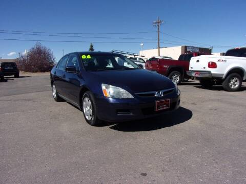 2006 Honda Accord for sale at Quality Auto City Inc. in Laramie WY