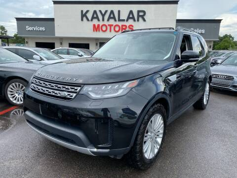 2017 Land Rover Discovery for sale at KAYALAR MOTORS in Houston TX