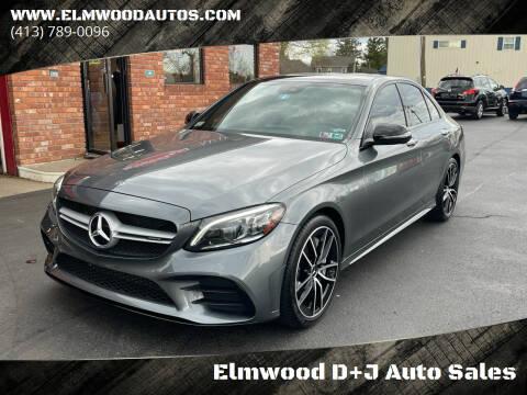 2020 Mercedes-Benz C-Class for sale at Elmwood D+J Auto Sales in Agawam MA