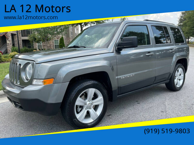 2014 Jeep Patriot for sale at LA 12 Motors in Durham NC