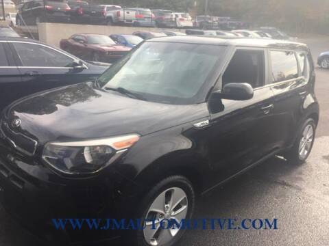 2015 Kia Soul for sale at J & M Automotive in Naugatuck CT