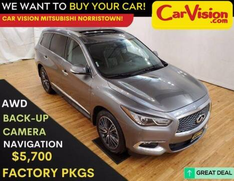 2017 Infiniti QX60 for sale at Car Vision Mitsubishi Norristown in Trooper PA