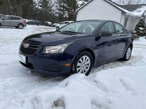 2011 Chevrolet Cruze for sale at Williston Economy Motors in Williston VT