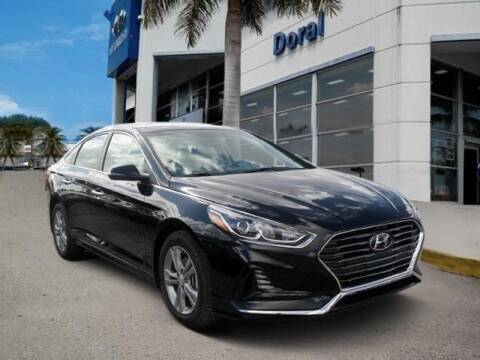 2018 Hyundai Sonata for sale at DORAL HYUNDAI in Doral FL