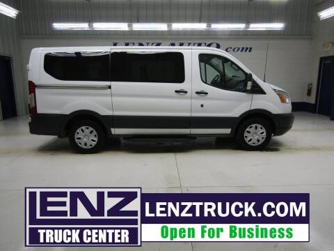2017 Ford Transit Passenger for sale at LENZ TRUCK CENTER in Fond Du Lac WI