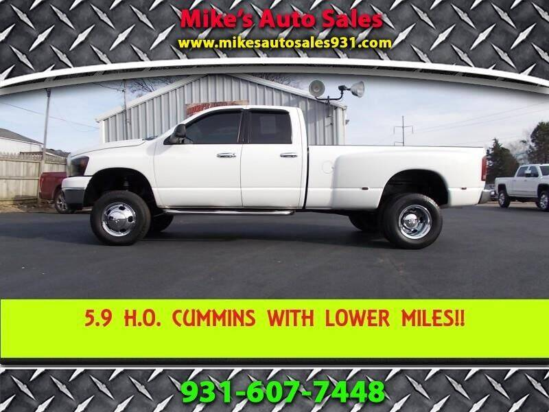 2006 Dodge Ram Pickup 3500 for sale at Mike's Auto Sales in Shelbyville TN