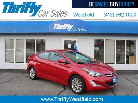 2014 Hyundai Elantra for sale at Thrifty Car Sales Westfield in Westfield MA