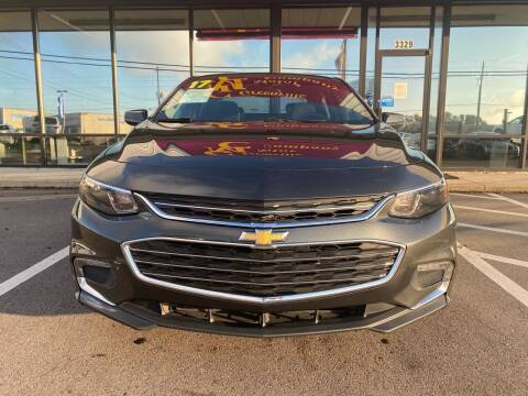 2017 Chevrolet Malibu for sale at Greenville Motor Company in Greenville NC