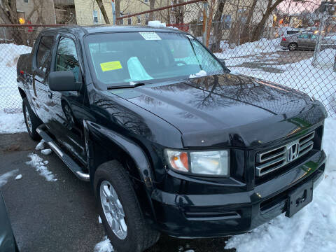 2007 Honda Ridgeline for sale at Polonia Auto Sales and Service in Hyde Park MA