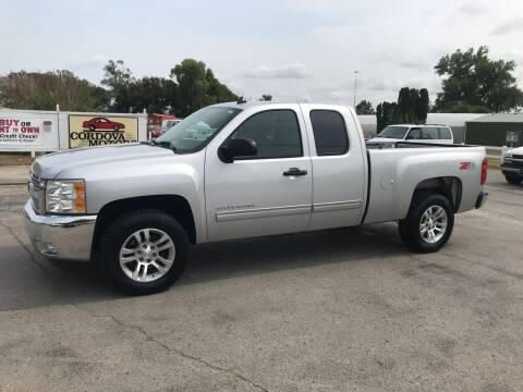 2012 Chevrolet Silverado 1500 for sale at Cordova Motors in Lawrence KS