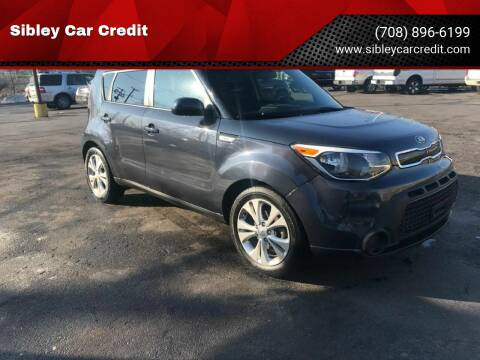 2015 Kia Soul for sale at Sibley Car Credit in Dolton IL