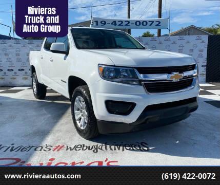 2020 Chevrolet Colorado for sale at Rivieras Truck and Auto Group in Chula Vista CA