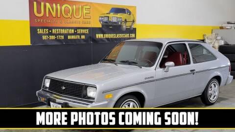 1986 Chevrolet Chevette for sale at UNIQUE SPECIALTY & CLASSICS in Mankato MN