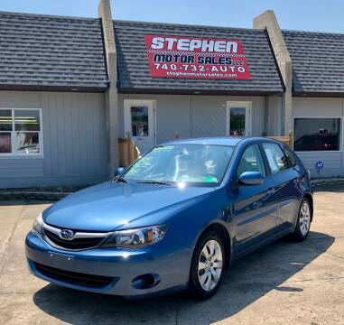 2010 Subaru Impreza for sale at Stephen Motor Sales LLC in Caldwell OH