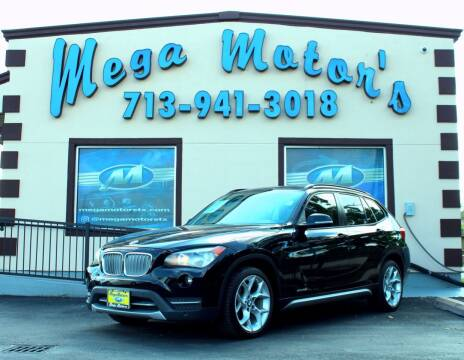 2013 BMW X1 for sale at MEGA MOTORS in South Houston TX