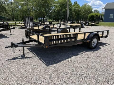 "2021 GRtrailers 82""x14' UTV RZR QUAD Trailer for sale at Bailey Auto in Pomona KS"