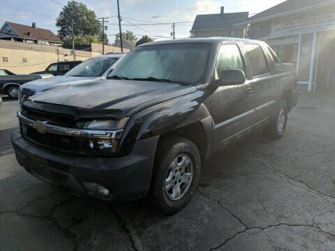 2003 Chevrolet Avalanche for sale at Richland Motors in Cleveland OH