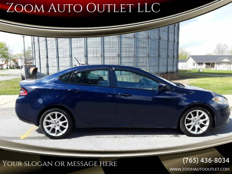 2013 Dodge Dart for sale at Zoom Auto Outlet LLC in Thorntown IN